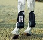 ESKADRON Flexisoft Gamaschen (vorne), schwarz, Pony