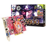 MSI NVidia GeForce FX 5600 XT 128 MB DDR Video Out, DVI, TV-Out, Video In  Grafikkarte
