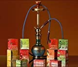 15 X Soex ShiSha Tabak - 42 Diverse Sorten - Nikotinfrei - 50 gr. Wasserpfeifen Tabak