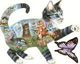 Katzenfreuden (Konturenpuzzle)