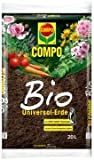 COMPO BIO Universal-Erde torffrei, hochwertige, torffrei Blumenerde mit ganzjähirger Anwendbarkeit,...