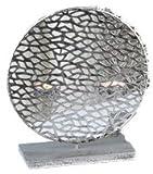 Teelichtleuchter 'Purley' aus Metall groß