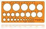 Standardgraph 1316 Zeichenschablonen Kreisschablone