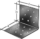 Lochplattenwinkel, vz, 100x100x100x2,5mm 100x100x100 mm, sendzimir-fvz.