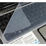 Universal Silikon Displayschutzfolie für Tastatur Displayschutzfolie für Notebooks von 15pouces,...