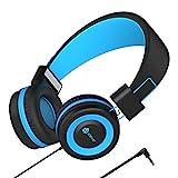 Kinder Kopfhörer - Kabel Kopfhörer für Kinder, verstellbares Stirnband, Stereo Sound, Faltbare,...