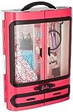 Barbie DMT57 - Kleiderschrank, Puppen Zubehör mit Kleidung und Accessoires, Mädchen Spielzeug ab 3...