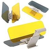 Yahee Auto Blendschutz Sonnenschutz Sonnenblende Auto-Sonnenblende 2 in 1 Transparent für Tag und...
