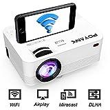 [WiFi Beamer] POYANK Beamer, Mini WiFi Projektor, Video Beamer unterstützt Airplay Miracast DLNA...