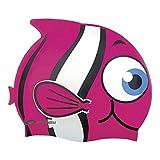 Spokey Rybka Kinder Badekappe, Bademütze, Badehaube, Cap, spokey:Fisch / 87469 rosa