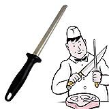 Footprintse 12inch Messerschärfgerät Hand Stahl Angelhaken Spitzer Mit ABS Griff Für Home Küche...