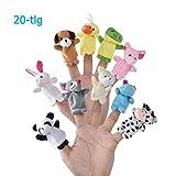 Caiming Finger Plüschtier [20-TLG] Mitgebsel | Kindergeburstagen | Gastgeschenke für Kinderparty...