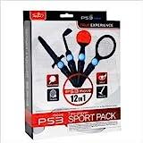 Sony® PS3 MOVE 12-in-1 SPORTS MULTI PACK (Controller Anschluß Bündel) für verschiedene...