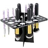 NUOLUX Make-up Pinsel Halter kosmetische Werkzeug Bürstenhalter zusammenklappbar