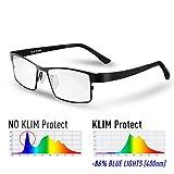 KLIM Protect - Brillen Generation - Schützen Sie Ihre Augen vor dem schädlichem blauem Licht von...