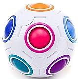 CUBIXS – Regenbogenball Magic-Ball – Logik Spielzeug Brainteaser für Kinder und Erwachsene –...