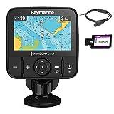 Raymarine E70295-CEUR Dragonfly-5M GPS-Kartenplotter mit CMAP European Essentials Karte 12,7 cm (5...