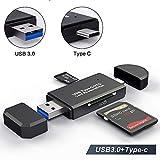 YoSuDa Speicherkartenleser Micro SD Card Reader,USB 3.0 Type C OTG Adapter für Samsung S9/S9...