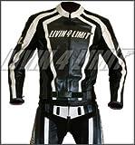 Motorrad Lederkombi 4LIMIT Sports LAGUNA SECA Motorradkombi Zweiteiler schwarz-weiß
