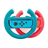 Ersatz Joy Con Lenkrad für Nintendo Switch, Lammcou Ersatz Ergonomic Nintendo Joy Con Controller...