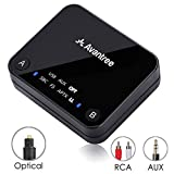 Avantree Bluetooth 4.2 Transmitter, Digital Optical TOSLINK, aptX Low Latency für 2 Kopfhörer,...