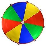Kenley 3,5m Schwungtuch für Kinder und Familie - Bunt Fallschirm Parachutes Spielzeug