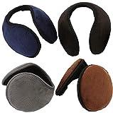 Liuer (4 Packung) Damen Herren Warme Ohrenschützer Winter Ohrenschützer,hält die Ohren...