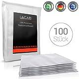 Lacari  100 Premium Vakuumbeutel - 20x30 cm - Perfekt zum Sous Vide Garen geeignet - Vakuumierbeutel...