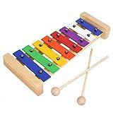 MVPOWER Xylophon Holzspielzeug Musikinstrument für Kinder Glockenspiel Pädagogische Entwicklung...