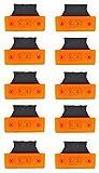 Seitenmarkierungsleuchten, 10-teiliges Set, 6LEDs pro Leuchte, orange, 12V,...