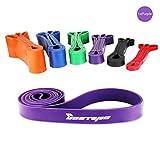[Resistance Band] BESTOPE Premium Latex Pull Up Fitnessbänder Widerstand-Bänder Trainingsbänder...