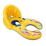 Glagie Schwimmring für Baby von 1 bis 3 Jahre Aufblasbare Umweltfreudlich PVC Schwimmhilfe...