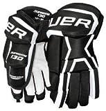 Bauer Supreme 130 Handschuhe Senior, Größe:13 Zoll;Farbe:schwarz/weiß