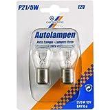 Motorrad Glühbirne / Leuchtmittel 12V 21 / 5W BAY15D CT