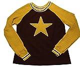 Damensweatshirt Gr. 40, schwarz mit Stern, Unikat, Handemade