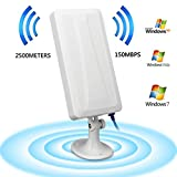 WiFi Display Dongle,Hunpta@WiFi Long Range Extender WLAN Router Booster Repeater Antenne WLAN...