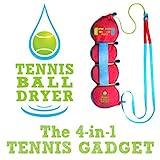 Tennisball- Trockner - 4 -in-1 Tennis Zubehör - AlsBestes Tennis Gadget - Inklusive 4 tollen...