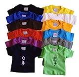 Mini T-Shirt Judo schwarz