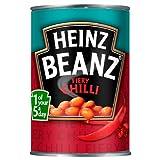 Heinz Beanz Fiery Chilli 390g (Packung mit 12 x 390g)