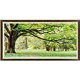 Pixnor Gezählten Kreuzstich Green Tree 111x55cm