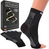 Fit Nation - (2 Paar) Kompressionssocken / Fußgelenk Bandage für effektive Kompression beim Laufen...