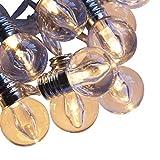 Qbis LED-Lichterkette. Mini Lichterkette Feenlichter 16 Warmweiße LEDs Batteriebetrieben Mit Timer...
