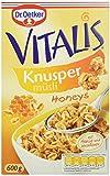 Dr. Oetker Vitalis Knusper Honeys 600g 5er Pack (5 x 600 g)