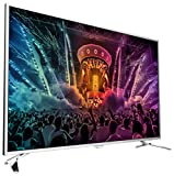 Philips 43PUS6501/12 109,2 cm (43 Zoll) Ultraflacher Android 4K-Fernseher mit 2-seitigem Ambilight...