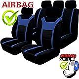 Akhan SB203 - Qualität Auto Sitzbezug Sitzbezüge Schonbezüge Schonbezug mit Seitenairbag...