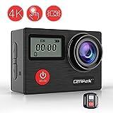 Campark X20 Action Cam WIFI Sports Camera 4K Kamera 20MP Ultra Full HD Wasserdicht Helmkamera mit...