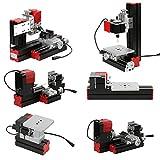 KKmoon Mini DIY 6 in 1 Drehmaschine aus Aluminiumlegierung + Zinklegierung, Multifunktionale...