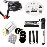 Fahrrad Werkzeug OUTERDO Fahrrad Multitool 7 in 1 Reparaturset Mit Fahrrad Satteltasche Geeignet...