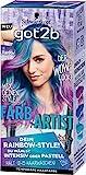 Got2b 111 Rainbow Bunt Farb-Artist Haarfarbe, 3er Pack(3 x 90 ml)