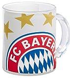 Glastasse Logo FC Bayern München